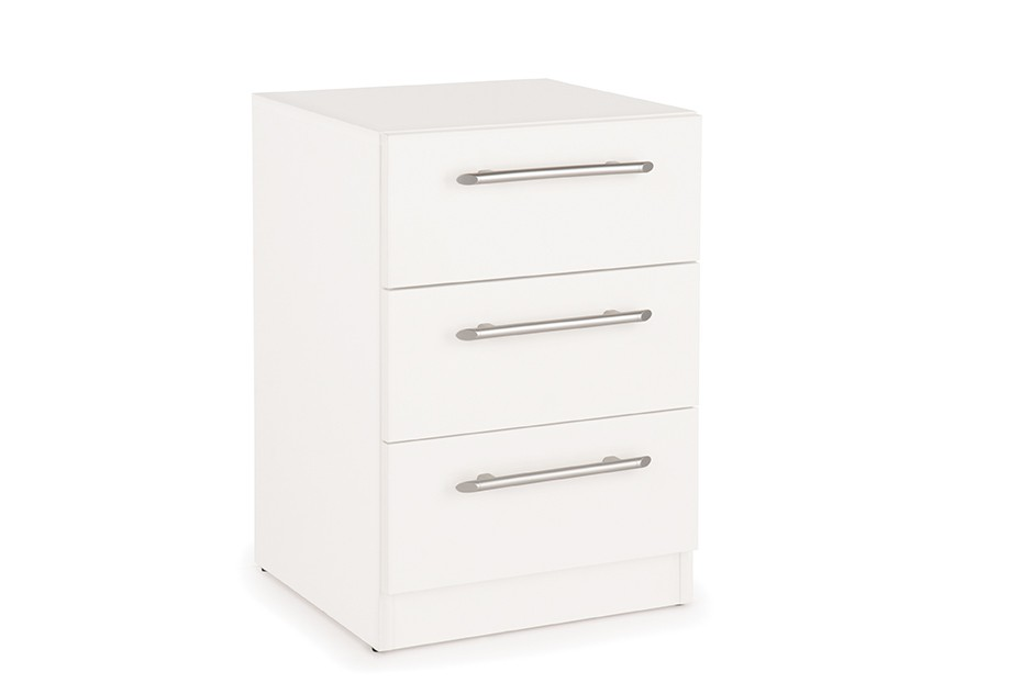 Acton 3 Drawer Bedside Cabinet ( H151214 )