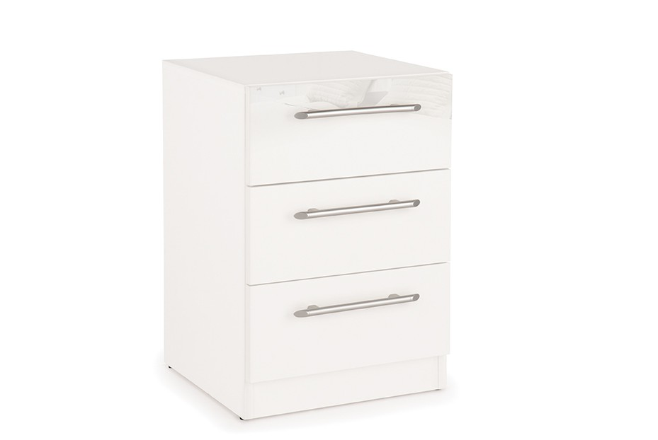 Angel 3 Drawer Bedside Cabinet ( H151226 )